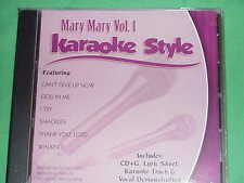 Mary Mary~#1~Christian Daywind Karaoke Style ~ Thank You, Lord ~ God in Me ~CD+G