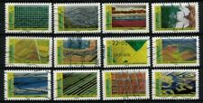 NEW 2021 les 12 timbres du Carnet - PAYSAGES oblitérés