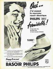 Publicité Advertising 028  1959  Philips  rasoir  éléctrique  120S