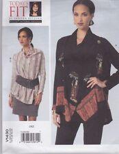 Vogue motif couture todays fit par Sandra betzina CHEMISIER & JUPE TAILLE OSZ v1430