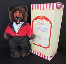 """Ringmaster"" by Robert Raikes Bears - Circus Collection 17th Edition - Nos"