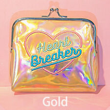 Fashion Women Hologram Wallet Metallic Girls Card Holder Laser Coin Purse Bag HQ
