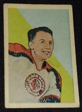 "1952-1953 - PARKHURST JAMES ""GUS"" MORTSON CHICAGO BLACKHAWKS NHL HOCKEY CARD #39"