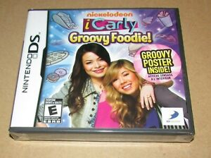 iCarly: Groovy Foodie (Nintendo DS) Brand New / Fast Shipping