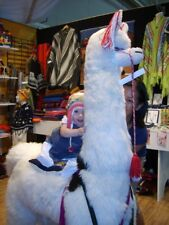 Giant Llama- Plush toy/ Alpaca fleece from Peru!
