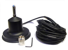 Magnetic Mount Cb Radio Antenna Ariel Mag Without Base Mast Exterior Body