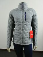 Womens The North Face Thermoball Impendor Hybrid Puffer Insulated Jacket Grey