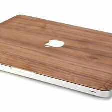 "Stylish Wood Design Macbook Skin Real Wood 11"" Air / Pro/ Retina Wooden Cover"