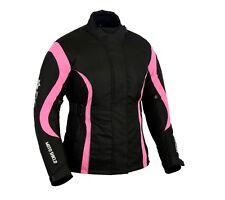 Motorrad Motorrad Frauen Pink Cordura Textil Professionelle Wasserdichte Jacke