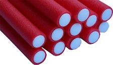 Bendy Flexible Foam Rollers Red 12 pk