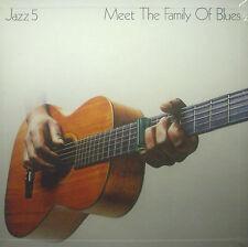 5-LP-Box V.A. JAZZ 5 - meet the family of bluesnew - original packaging