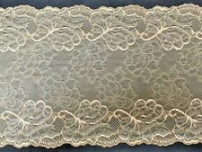 "laverslace Delicate Black Narrow Stretch Cut Out Lace Trim 1.25/""//3.5cm Sewing"