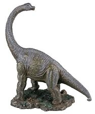"Brachiosaurus Dinosaur Collectible Figurine, Cold Cast Resin, 10"" Tall by Summit"