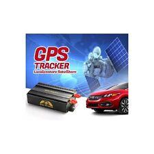 LOCALIZZATORE SATELLITARE AUTO GPS TRACKER TK103 CON TELECOMANDO MICRO SD CARD