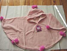 Sanrio Pearl Hello Kitty Fleece Poncho Hood Pink New Q