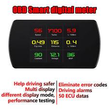 Car Driving data meter fault code scan kilometers & miles switch OBD2 EUOBD Hud