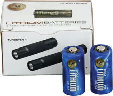 Asp 03028 Cr123A Lithium Batteries (12) Boxed for Triad and Tungsten Flashlights