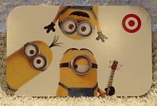 Target Minions! Bob! Kevin! Stuart! Despicable Me 2015 Gift Card 790-01-2270
