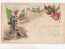 Souvenir De Venise a Bruxelles 1900 U/B Postcard 907a