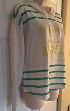 Victoria's Secret Angel Shirttail Pullover  Hoodie Sz Medium Rare Color NEW