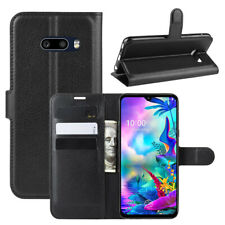 Case For LG G8 G8S G8X V50 V40 ThinQ W30 G7 G6 Leather Wallet Stand Phone Cover
