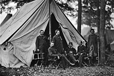 New 5x7 Civil War Photo: Dr. Jonathan Letterman & Staff, Army of the Potomac