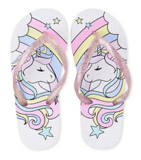 The Children's Place Girls Unicorn Flip Flops Size Youth 1-2
