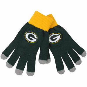 Green Bay Packers Gloves Knit