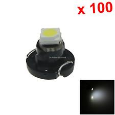 100x White RV T3 Blub NEO Dash Twist Socket HVAC Instrument Lamp 1 1210 SMD LED