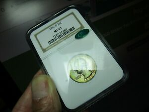 COLORFUL AND REGISTRY WASHINGTON QUARTER  1957-D  NGC & CAC  AT CAC NONE BETTER