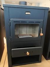 Combustion du bois Poêle Multi Carburant cheminée brûleur Foyer verre 10 kw