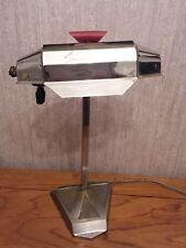 VINTAGE anni 1930 ART DECO pirouett Paris Lampada da tavolo