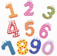 Kids Wooden Number Line - Fridge Magnet Learning Teaching Toy Education Baby