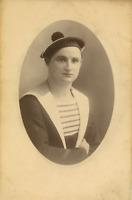 Portrait d'un marin nommé Marcel Pitois  Vintage, Carte cabinet  Tirage a