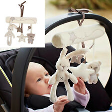 Mamas & Papas Cot Hanging Toy Baby Rattle Soft Plush Rabbit Musical Toys Lovely