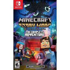 Minecraft Story Mode The Complete Adventure Nintendo Switch Video Game NEW