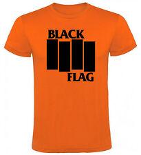 Camiseta Black Flag Hombre varias tallas y colores a107