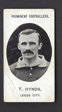TADDY - PROMINENT FOOTBALLERS (NO FOOTNOTE) - T HYNDS, LEEDS CITY
