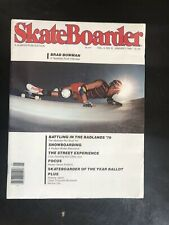 Vintage Skateboard Magazine January 1980 Excellent
