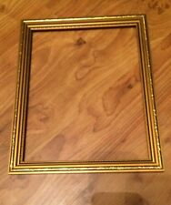 Empty Picture Frame Gold Effect Wooden