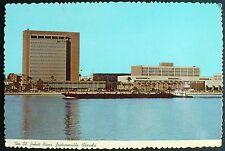 1960s Skyline & St. John's River Jacksonville FL City Hall and County Court Hous