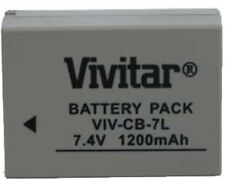 VIVITAR CB-7L Canon NB7L Replacement for Powershot G10 (BP-7L)