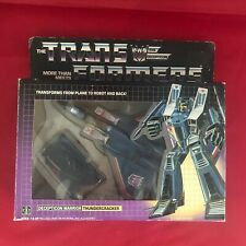 Transformers G1 Vintage 1984 - Thundercracker - Almost Complete - Boxed
