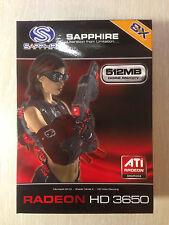 Sapphire HD3650 512 MB DDR2 AGP 128 bit videocard NUOVO! RARO!