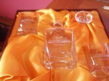More details for burns crystal glass decanter set & 2 tot glasses waverley paddle steamer boxed