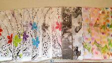 Joblot 24 pcs Flower Design chiffon scarves scarf wholesale 50x160 cm Lot 6