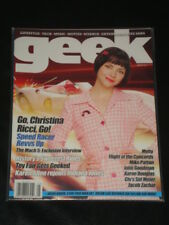 GEEK magazine 2008, Christina Ricci, Mike Patton, Flight of the Concords, Moby