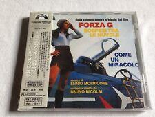 FORZA G / MUSSOLINI: ULTIMO ATTO film score Ennio Morricone CD OST 1996 JAPAN