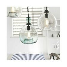 Vintage Industrial Pendant Light Modern Hand Blown Glass Hanging Lamp Lighting