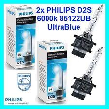 Neuf 2 Pièce Xénon PHILIPS d2s 6000k 85122ub Ultra Blue! Lampe! Audi BMW VW
